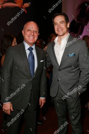 Starz CEO Chris Albrecht and Sascha Radetsky seen at the NYC Premiere of Starz's original limited series Flesh and Bone at the NYU Skirball Center for the Performing Arts, in NYC