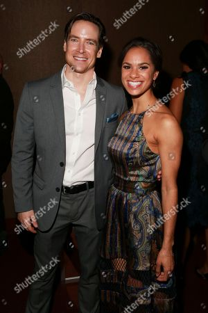 Stock Picture of Sascha Radetsky and Misty Copeland seen at the NYC Premiere of Starz's original limited series Flesh and Bone at the NYU Skirball Center for the Performing Arts, in NYC