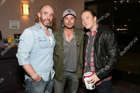 """Kevin Marron, Kevin J. Ryan and Kevin Shulman seen at the American premiere of """"Leopard"""" at the Laemmle Music Hall, in Beverly Hills, Calif"""