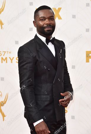 David Oyelowo arrives at the 67th Primetime Emmy Awards at the Microsoft Theater in Los Angeles. A couple of big-time movie stars will be appearing off-Broadway in fall 2016 when Daniel Craig and Oyelowo appear in a production of William Shakespeare's Othello at New York Theatre Workshop. Sam Gold, a Tony-winner for Fun Home will direct the tragedy, with Selma star Oyelowo playing the title role and super spy 007 Craig as Iago