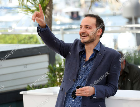 Actor Fabrizio Rongione during a photo call for Two Days, One Night (Deux jours, une nuit) at the 67th international film festival, Cannes, southern France