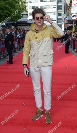 Tom Kilbey arrives at the world premiere of The Hummingbird at the Odeon West End in London on
