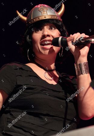 Stock Picture of Musician Scheila Gonzalez performs with Zappa Plays Zappa at Rams Head Live, in Baltimore