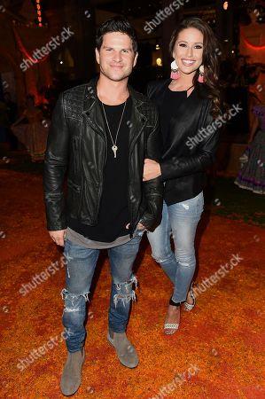 "Stock Photo of Daniel Booko, Nia Sanchez. Daniel Booko and Nia Sanchez arrive at the Los Angeles premiere of ""Coco"" at the El Capitan Theatre, in Los Angeles"