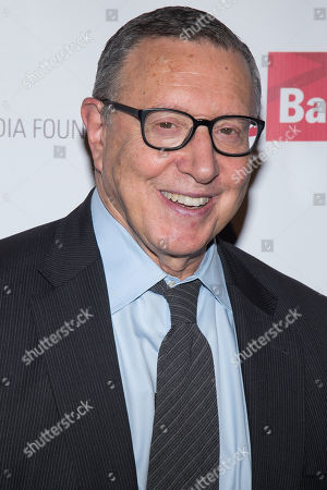 Norman Pearlstine attends the International Women's Media Foundation's 26th Annual Courage in Journalism Awards at Cipriani's 42nd Street, in New York