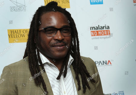 Stock Photo of Director Biyi Bandele arrives on the red carpet for the UK film premiere of Half Of A Yellow Sun at a cinema in Streatham, south London