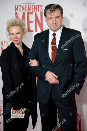 """Editorial image of Britain UK Premiere of """"The Monuments Men"""" - Outside Arrivals - 11 Feb 2014"""