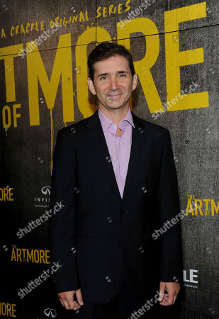 "Chuck Rose, creator, writer, executive producer, attends Crackle's ""The Art of More"" season two premiere, at the Museum of Arts and Design in New York. Sony's streaming network, Crackle, will launch season two of its first original scripted drama, ""The Art of More,"" on November 16th"