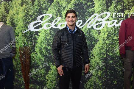 Luke Bilyk attends the Eddie Bauer Adventure House at SundanLuke Bilykce Film Festival, in Park City, Utah