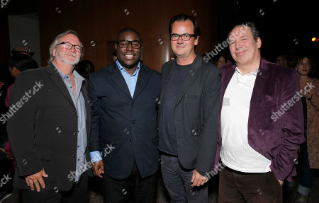 Cinematographer Sean Bobbitt, Director Steve McQueen, Editor Joe Walker and Hans Zimmer attend Fox Searchlight's Los Angeles Premiere of 12 Years A Slave, on Monday, October, 4th, 2013 in Los Angeles