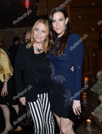 """Stock Image of Actress Liv Tyler and mother Bebe Buell attend HBO's """"The Leftovers"""" season premiere after party at TAO on in New York"""