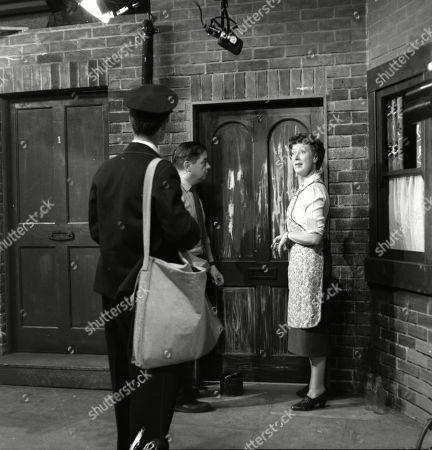 Cast Member, Frank Pemberton (as Frank Barlow) and Noel Dyson (as Ida Barlow)