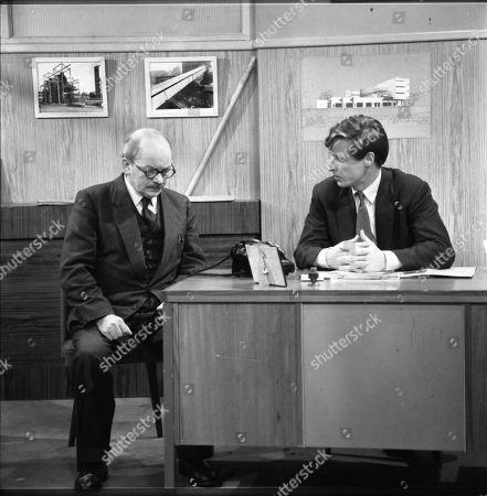Bartlett Mullins and William Roache (as Ken Barlow)