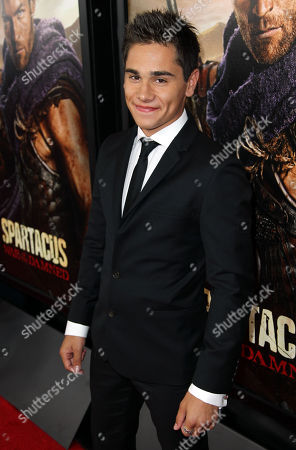 Editorial picture of Spartacus: War of the Damned Premiere and After party, Los Angeles, USA - 22 Jan 2013