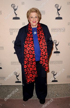 """JANUARY 31: Actor Kaye Ballard arrives at the Academy of Television Arts & Sciences Presents """"Retire From Showbiz? No Thanks!"""" at the Academy of Television Arts & Sciences on in North Hollywood, California"""