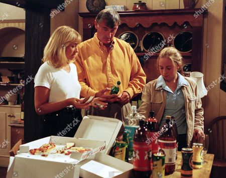 Ep 2256 Tuesday 16th September 1997 Tony, Becky and Emma return home from their holidays to a scene of devastation after Will's impromptu party. But their wayward son is nowhere to be seen - With Anthony Cairns, as played by Edward Peel ; Rebecca Cairns, as played by Sarah Neville ; Emma Cairns, as played by Rebecca Loudonsack.