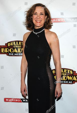 """Actress Karen Ziemba attends the after party for the opening night of """"Bullets Over Broadway"""" at The Metropolitan Museum of Art on in New York"""