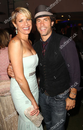 EXCLUSIVE - Arianne Zucker, left, and Shawn Christian attend the 2014 Daytime Emmy Nominee Reception presented by the Television Academy at The London West Hollywood on