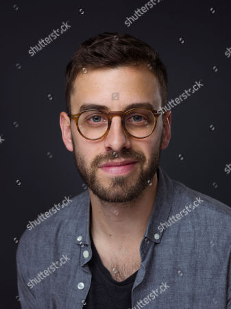 """Director/writer/producer Matt Sobel poses for a portrait to promote the film, """"Take Me to the River"""", at the Eddie Bauer Adventure House during the Sundance Film Festival, in Park City, Utah"""
