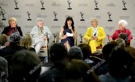 """Editorial photo of Academy of Television Arts & Sciences Presents """"Retire From Showbiz? No Thanks!"""" - Panel, North Hollywood, USA - 31 Jan 2013"""