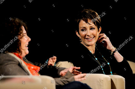 """MARCH 26: (L-R) Creator/executive producer Eileen Heisler and actor Patricia Heatonparticipate in the Academy of Television Arts & Sciences Presents an Evening with """"The Middle"""" panel on in North Hollywood, California"""