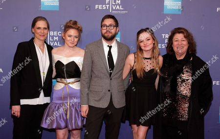 """From left, actresses Amy Morton, Louisa Krause, director Lance Edmands, and actresses Emily Meade and Margo Martindale attend the premiere of """"Bluebird"""" during the 2013 Tribeca Film Festival at the SVA Theatre on in New York"""