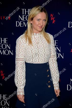 Editorial image of Britain The Neon Demon Premiere, London, United Kingdom - 31 May 2016