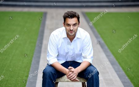 Actor Jake Johnson poses for a portrait at the Four Seasons Hotel in Los Angeles. New Girl star Johnson evolves with indie director Joe Swanberg on their second feature together, Digging for Fire. The movie releases in U.S. theaters on Friday, Aug. 21, 2015