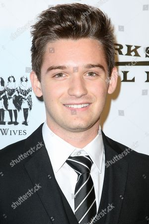 """Stock Photo of Ben Stillwell arrives at the LA Premiere of """"The Last Survivors"""" at Westwood Crest Theater, in Los Angeles"""