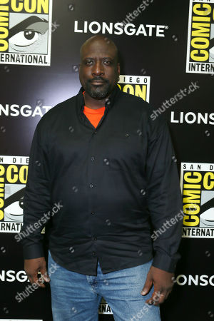 Writer/Executive Producer Kevin Grevioux seen at Lionsgate's 'I, Frankenstein' Talent Signing at 2013 Comic-Con, on Friday, July, 19, 2013 in San Diego, Calif