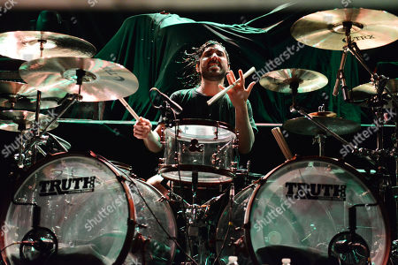 Valentino Arteaga of Of Mice and Men performs, at The Tabernacle, in Atlanta