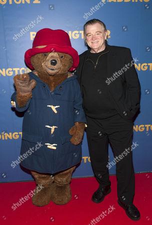 Brendan Gleeson with Paddington