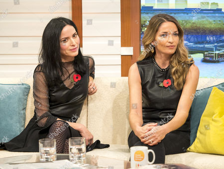 Stock Image of The Corrs - Andrea and Caroline Corr