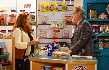 Ep 9301 Friday 17th November 2017 - 1st Ep Having discovered Norris Cole, as played by Malcolm Henden, visited Darlington in 1961, Colin Callen, as played by Vic Reeves, confides in Moira, as played by Louisa Patikas, that he reckons Norris might be his father.
