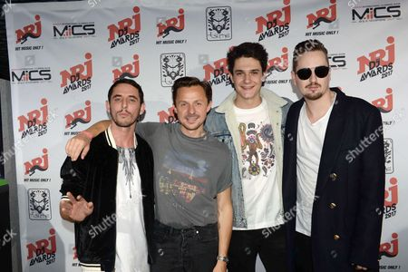 Stock Image of Martin Solveig, Kungs, Robin Schulz and The Avengers