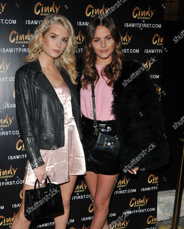 Lottie Moss and Emily Blackwell