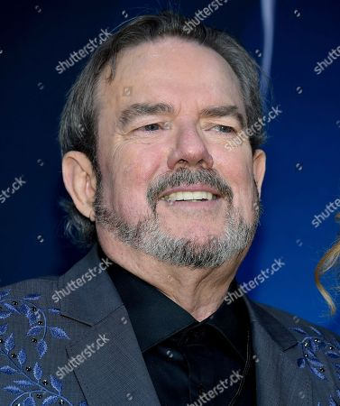 Songwriter and musician Jimmy Webb speaks in the press room at the 51st annual CMA Awards at the Bridgestone Arena, in Nashville, Tenn