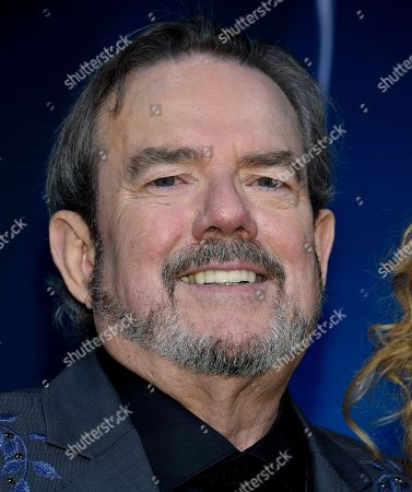 Stock Photo of Songwriter and musician Jimmy Webb speaks in the press room at the 51st annual CMA Awards at the Bridgestone Arena, in Nashville, Tenn
