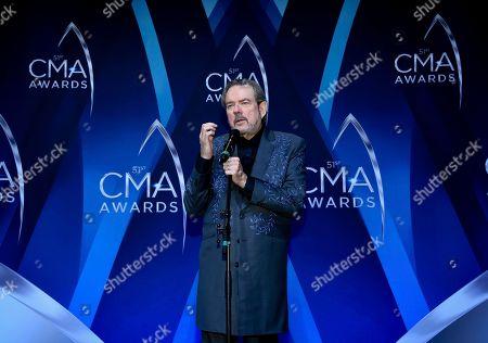 Editorial picture of 51st Annual CMA Awards - Press Room, Nashville, USA - 08 Nov 2017