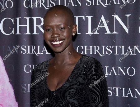 """Mari Agory attends a cocktail party for Christian Siriano's new book, """"Dresses To Dream About"""", at Rizzoli Bookstore, in New York"""