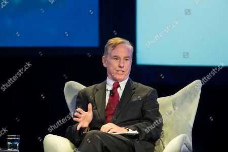 Stock Photo of Howard Dean speaks at the Geisinger's National Healthcare Symposium in Danville, Pa