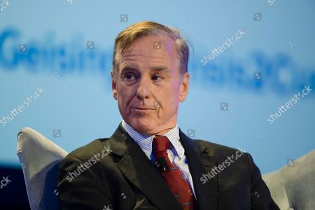 Stock Image of Howard Dean speaks at the Geisinger's National Healthcare Symposium in Danville, Pa
