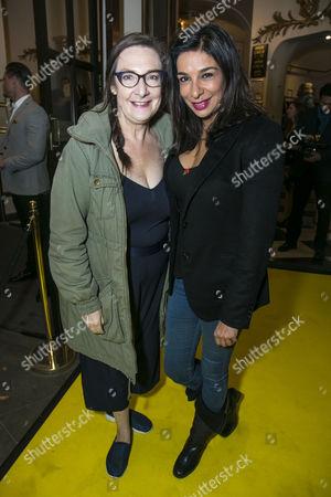 Stock Photo of Pauline McLynn and Shobna Gulati