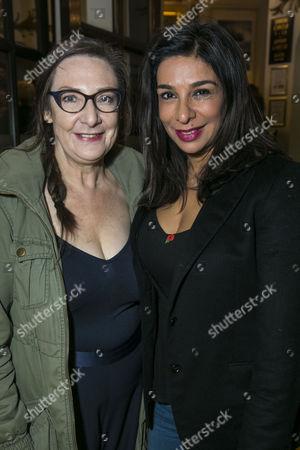 Pauline McLynn and Shobna Gulati