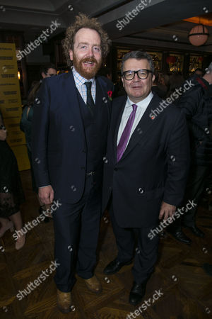 Stock Image of Adam Speers (Producer) and Tom Watson