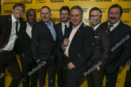 Kris Marshall (John Williamson), Don Warrington (George Aaronow), Robert Glenister (Dave Moss), Sam Yates (Director), Stanley Townsend (Shelley Levene), Christian Slater (Ricky Roma) and Daniel Ryan (Lingk)