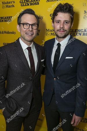 Christian Slater (Ricky Roma) and Sam Yates (Director)