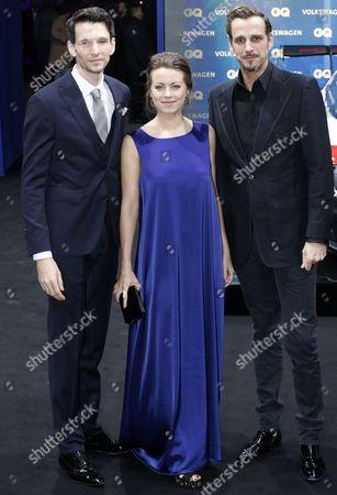 Sabin Tambrea, Alice Dwyer and Max von Thun