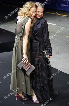 Chiara Schoras and Nova Meierhenrich