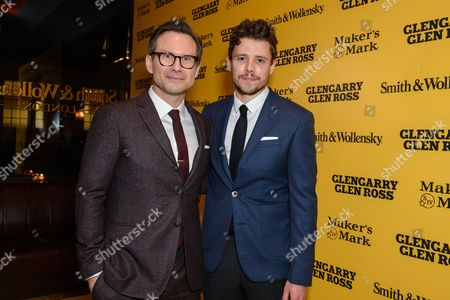 Christian Slater and Sam Yates